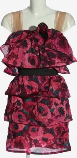 For H&M Minikleid in XS in blau / braun / pink, Produktansicht