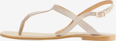 DreiMaster Vintage Sandaal in de kleur Beige / Crème, Productweergave