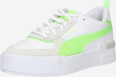 PUMA Sneaker in beige / grün / weiß, Produktansicht