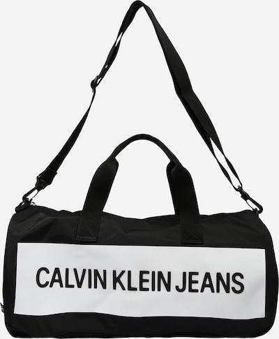 Calvin Klein Jeans Putna torba u crna / bijela, Pregled proizvoda