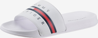 TOMMY HILFIGER Beach & Pool Shoes in Dark blue / Red / White, Item view