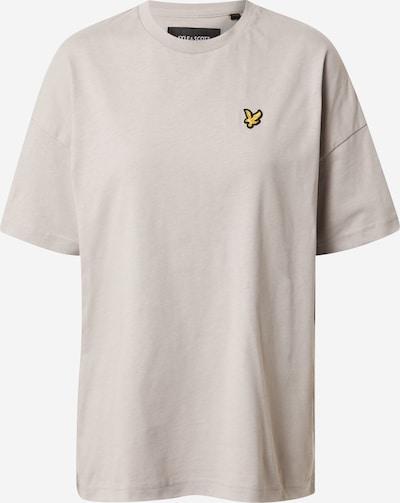 Lyle & Scott T-Shirt in goldgelb / grau / schwarz, Produktansicht