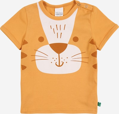 Fred's World by GREEN COTTON Shirt 'Bengal' in karamell / orange / weiß, Produktansicht