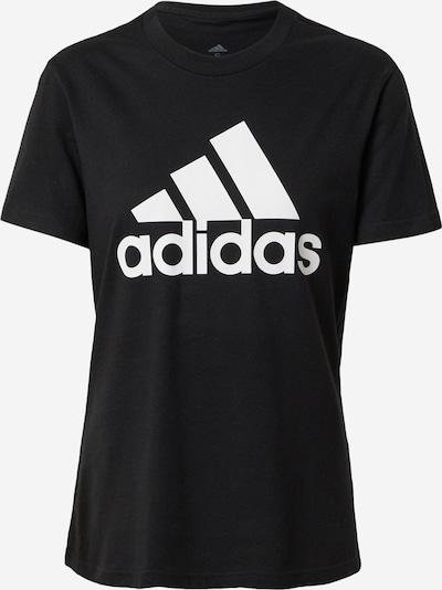 ADIDAS PERFORMANCE Функционална тениска в черно / бяло, Преглед на продукта