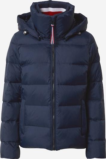 TOMMY HILFIGER Prijelazna jakna 'GLOBAL STRIPE HIP L DOWN JKT' u tamno plava, Pregled proizvoda