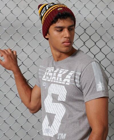 Superdry Shirt in de kleur Lichtgrijs: Vooraanzicht