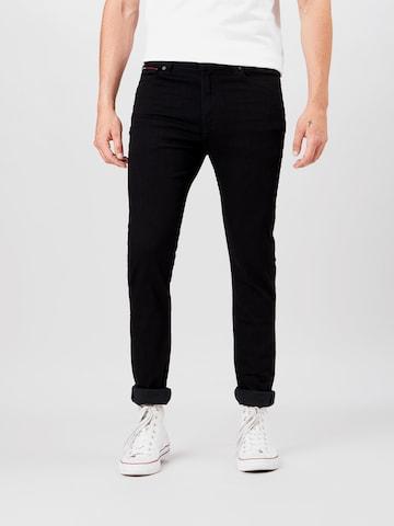 Tommy Jeans Jeans 'SIMON' in Schwarz