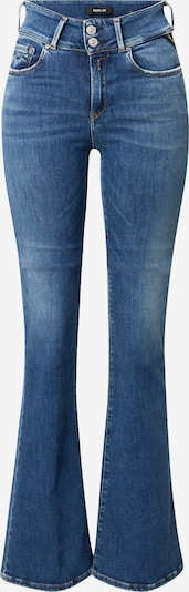 REPLAY Jeans 'NEWLUZ FLARE' in blue denim: Frontalansicht