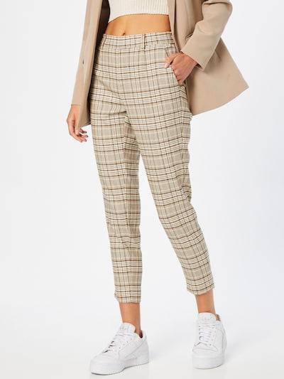 OBJECT Pants 'Lisa' in Beige / Brown / Olive, View model