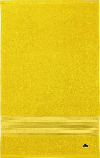 LACOSTE Gästehandtuch-Set in gelb, Produktansicht