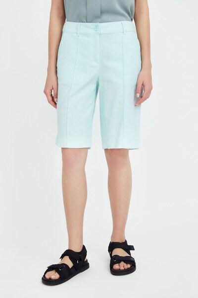 Finn Flare Shorts in hellgrün, Modelansicht