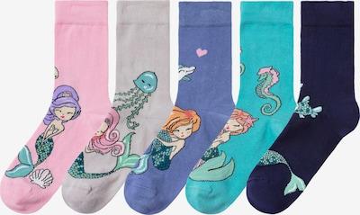HIS JEANS Socken (5 Paar) in mischfarben, Produktansicht