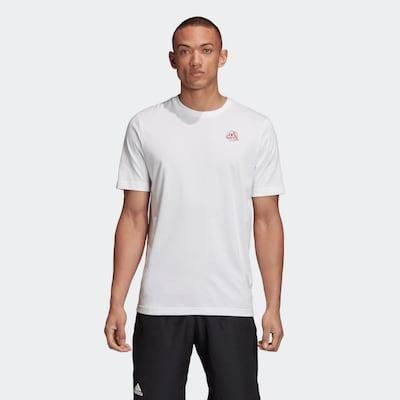 ADIDAS PERFORMANCE Shirt in de kleur Wit: Vooraanzicht