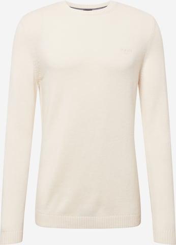 JOOP! Jeans Pullover 'Laurel' in Weiß