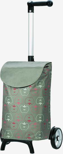 Andersen Shopper Einkaufstrolley 'Unus' in grün / rosa / rot / weiß, Produktansicht