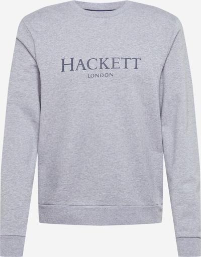 Hackett London Sweater majica u tamo siva / siva melange, Pregled proizvoda