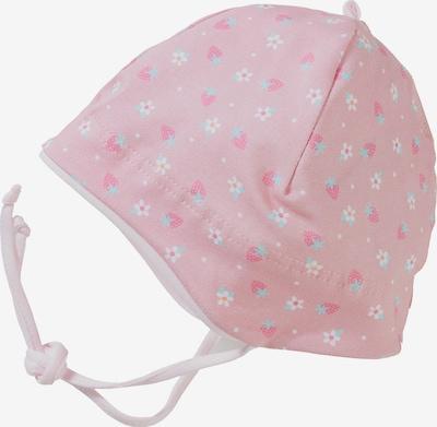 MAXIMO Mütze in hellblau / rosa / rosé / weiß, Produktansicht