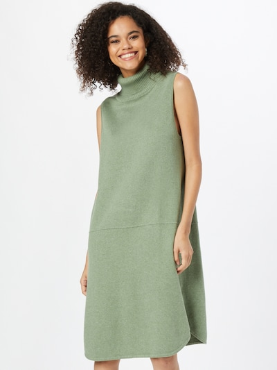 Rochie tricotat 'ERROXALI' SKFK pe verde pastel, Vizualizare model