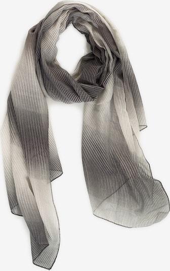 Emma & Kelly Schal mit tollem Print in grau / weiß, Produktansicht