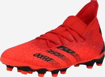 ADIDAS PERFORMANCE Παπούτσι ποδοσφαίρου 'Predator Freak .3' σε κόκκινο