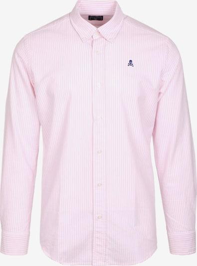 Scalpers Chemise en bleu marine / rose / blanc, Vue avec produit