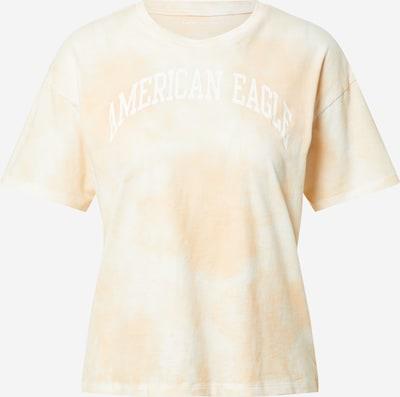 American Eagle Тениска в жълто / бяло, Преглед на продукта