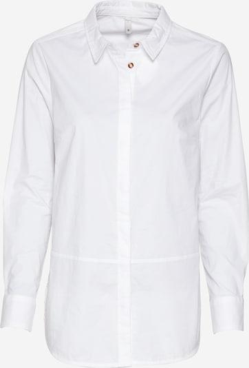 PULZ Jeans Bluse 'Elna' in weiß, Produktansicht