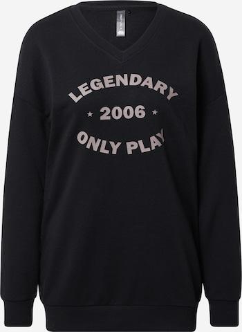 ONLY PLAY Sportsweatshirt 'Jara' i svart