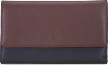 mywalit Geldbörse Leder 19 cm in Braun