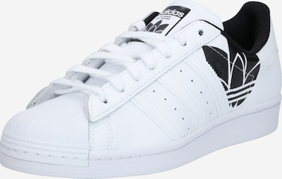 ADIDAS ORIGINALS Sneaker low 'SUPERSTAR' i sort / hvid, Produktvisning