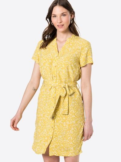 OBJECT Košilové šaty 'HESSA' - béžová / hořčicová, Model/ka