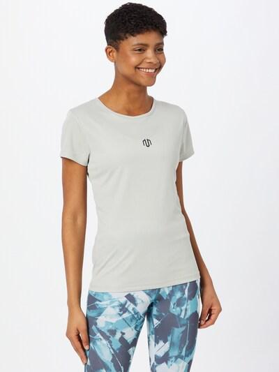 MOROTAI Funktionsshirt 'Light' in grau / schwarz: Frontalansicht