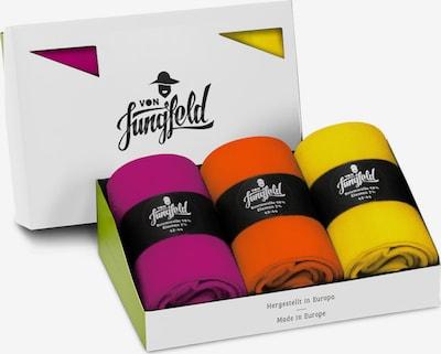 Von Jungfeld Bo-Kaap in gelb / lila / orange, Produktansicht