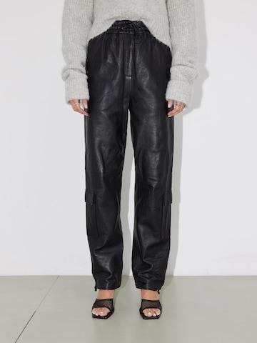 LeGer by Lena Gercke Cargo Pants 'Lorain' in Black