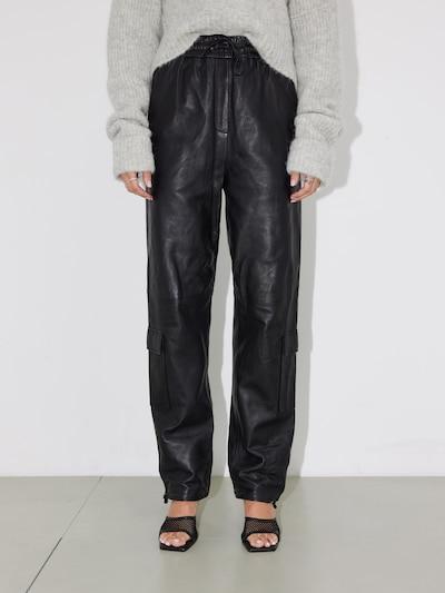 LeGer by Lena Gercke Cargo Pants 'Lorain' in Black, View model