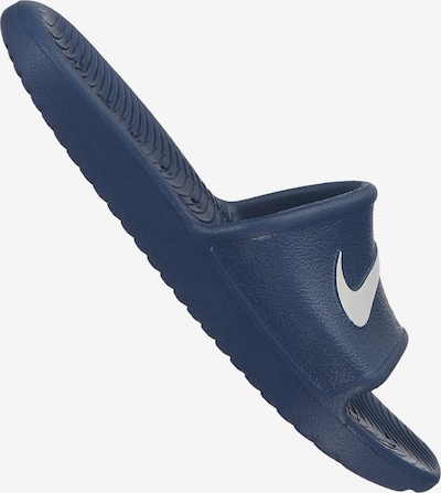 Nike Sportswear Badeschuh in dunkelblau / weiß, Produktansicht