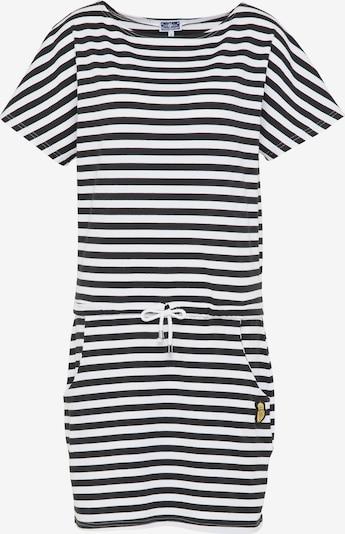DreiMaster Maritim Jerseykleid in schwarz, Produktansicht