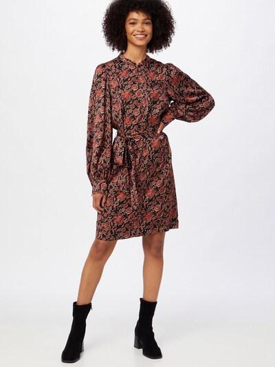 SCOTCH & SODA Kleid in rot / schwarz, Modelansicht