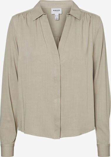 AWARE by Vero Moda Bluse 'Rio' in khaki, Produktansicht