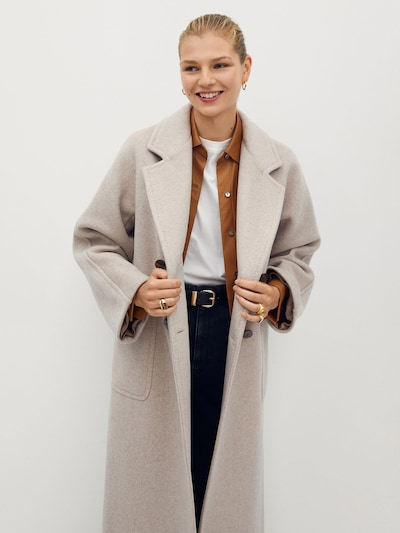 MANGO Přechodný kabát 'Soho' - tělová, Model/ka