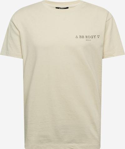 Marškinėliai 'Paulus' iš BE EDGY , spalva - juoda / balkšva: Vaizdas iš priekio
