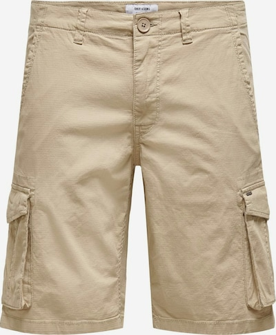 Only & Sons Shorts 'Mike' in hellbeige, Produktansicht