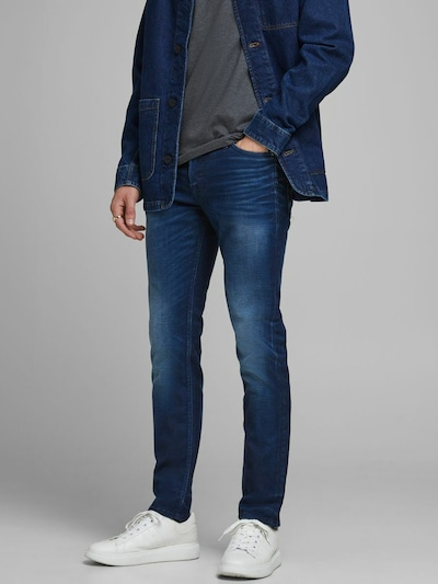 JACK & JONES Jeans in blau, Modelansicht