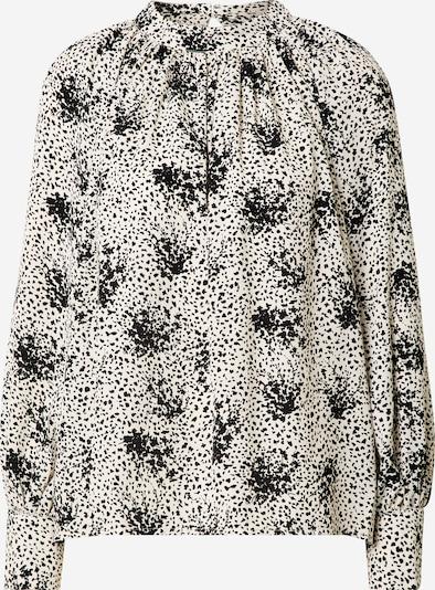 Louche Bluse in schwarz / offwhite, Produktansicht
