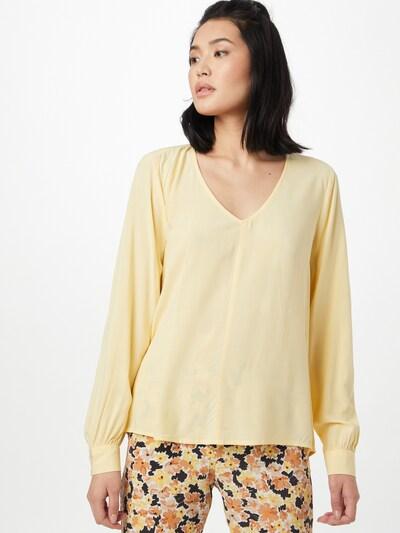 TOM TAILOR DENIM Bluse in gelb, Modelansicht