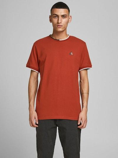 JACK & JONES Shirt in de kleur Roestrood: Vooraanzicht