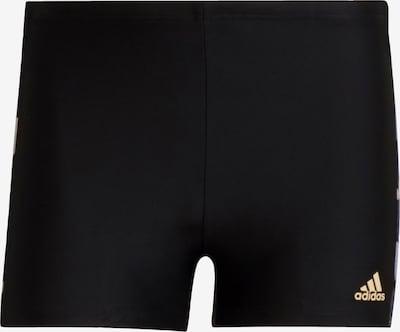 ADIDAS PERFORMANCE Sportbadehose in hellgelb / helllila / dunkellila / schwarz, Produktansicht