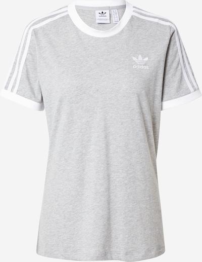 Tricou ADIDAS ORIGINALS pe gri / alb, Vizualizare produs