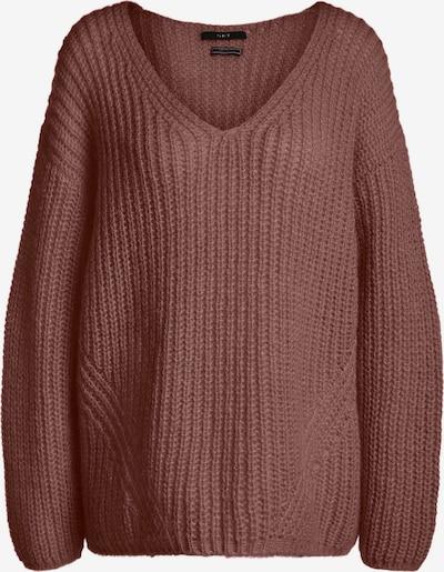 SET Pullover in braun: Frontalansicht