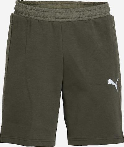 PUMA Pantalón deportivo 'EVOSTRIPE ' en verde / verde oscuro, Vista del producto